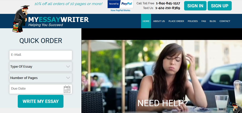 Term paper writer discount code