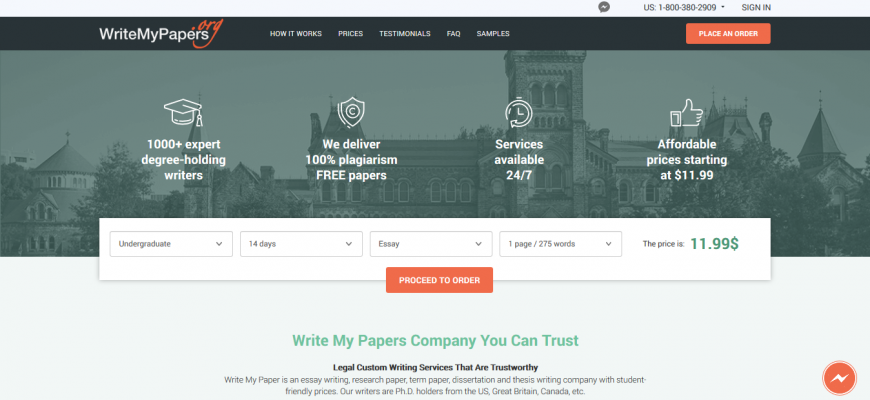 writemypapers website